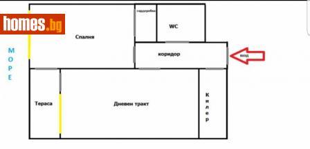 Двустаен, 72m² - Апартамент за продажба - 36519750
