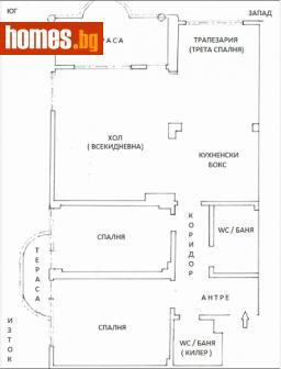 Многостаен, 110m² - Апартамент за продажба - 54808437