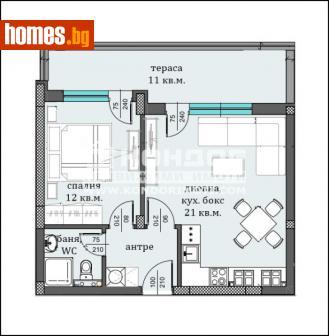 Двустаен, 72m² - Апартамент за продажба - 56470375