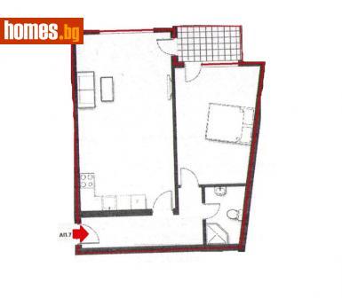 Двустаен, 79m² - Апартамент за продажба - 56687174