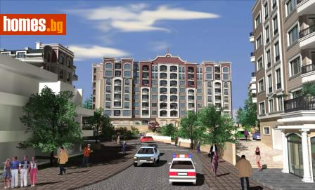 Тристаен, 94m² - Апартамент за продажба - 59961921