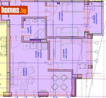Двустаен, 68m² - Апартамент за продажба - 62559519