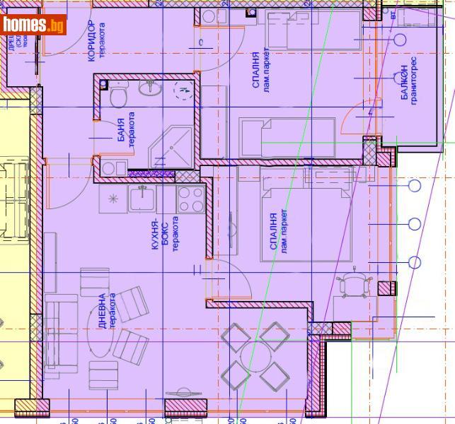 Двустаен, 68m² - Жк Южен, Пловдив - Апартамент за продажба - Маркет - недвижими имоти - 62559519