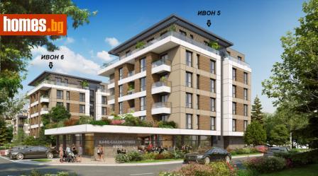 Двустаен, 58m² - Апартамент за продажба - 62922421