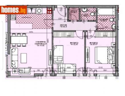 Тристаен, 85m² - Апартамент за продажба - 67255668