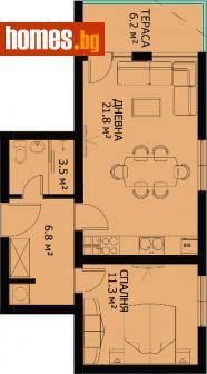 Двустаен, 73m² - Апартамент за продажба - 67664425