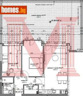 Тристаен, 169m² - Апартамент за продажба - 69391457