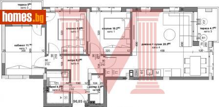 Четиристаен, 112m² - Апартамент за продажба - 69789451