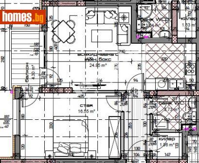 Двустаен, 79m² - Апартамент за продажба - 70547552