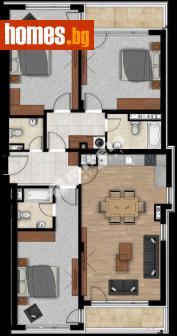 Четиристаен, 167m² - Апартамент за продажба - 70551834