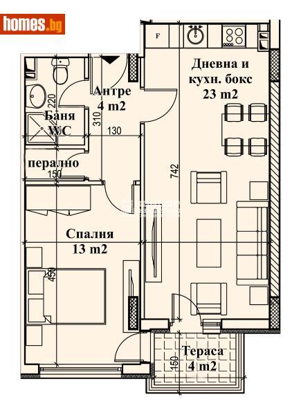 Двустаен, 68m² - Кв. Кършияка, Пловдив - Апартамент за продажба - КОНДОР НЕДВИЖИМИ ИМОТИ - 72953356