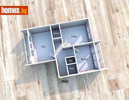 Двустаен, 64m² - Апартамент за продажба - 72966574