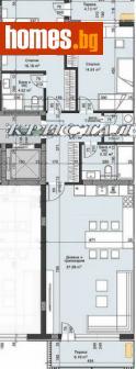 Тристаен, 138m² - Апартамент за продажба - 75223201