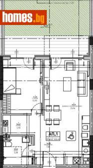 Двустаен, 67m² - Апартамент за продажба - 75407941