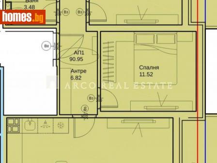 Тристаен, 100m² - Апартамент за продажба - 75702899