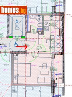 Едностаен, 50m² - Апартамент за продажба - 76110237